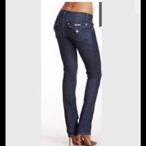 Hudson Carly Midrise Straight Leg, Size 28